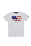 CHILE-T-shirt g/c m/c jersey 90%co 10%elas 170gr